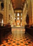 Catedral de Peterborough Fotografía de archivo