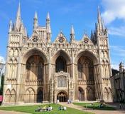 Catedral de Peterborough Fotografía de archivo libre de regalías