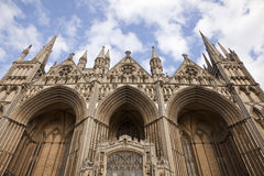 Catedral de Peterborough Imagem de Stock Royalty Free