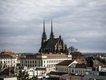 Catedral de Petrov Fotos de archivo libres de regalías