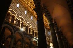 Catedral de Pisa Battistero Italy foto de stock