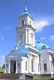 Catedral de Pokrovsky en la ciudad de Baranovichi en Bielorrusia Foto de archivo libre de regalías