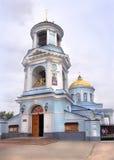 Catedral de Pokrovsky en la ciudad de Voronezh, Rusia Foto de archivo libre de regalías