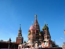 Catedral de Pokrovsky, Moscovo, quadrado vermelho Fotos de Stock Royalty Free