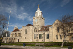 Catedral de Portsmouth Imagem de Stock Royalty Free