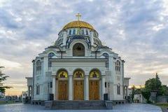Catedral de Poti da mãe santamente Foto de Stock