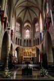 Catedral de Poznan imagem de stock