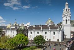 Catedral de Quito Fotografía de archivo
