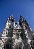 Catedral de Regensburg imagens de stock