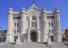 Catedral de Reggio Calabria Foto de archivo libre de regalías