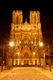Catedral de Reims Foto de Stock Royalty Free
