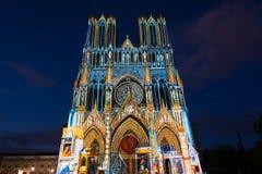 Catedral de Reims Imagem de Stock