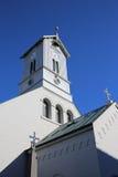 Catedral de Reykjavik Fotos de archivo