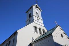 Catedral de Reykjavik Fotografía de archivo