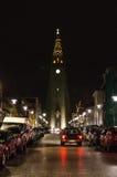 Catedral de Reykjavik Fotos de archivo libres de regalías