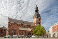 Catedral de Riga de St Mary Imagen de archivo libre de regalías