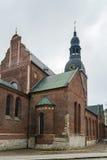 Catedral de Riga, Letonia Foto de archivo libre de regalías