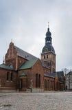 Catedral de Riga, Letonia Fotografía de archivo