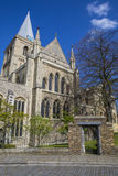 Catedral de Rochester en Kent Fotos de archivo libres de regalías
