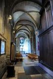 Catedral de Romsey, Hampshire, Inglaterra Imagem de Stock