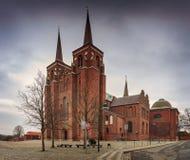 Catedral de Roskilde en Dinamarca fotos de archivo libres de regalías