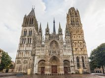 Catedral de Rouen, França Imagens de Stock