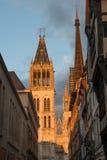 Catedral de Ruán Imagen de archivo libre de regalías