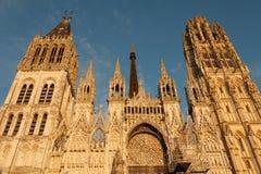 Catedral de Ruán imagenes de archivo