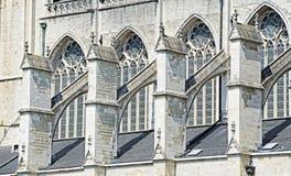 Catedral de Rumbolds de Saint em Mechelen, Bélgica Imagem de Stock
