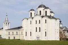 Catedral de São Nicolau em Novgorod Imagem de Stock Royalty Free