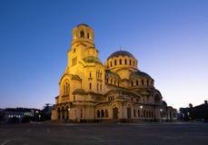 Catedral de Sófia imagens de stock