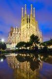 Catedral de Sagrada Familia en Barcelona imagen de archivo libre de regalías