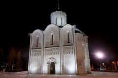 Catedral de Saint Demetrius - Vladimir, Rússia fotos de stock