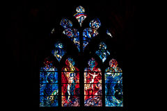 Catedral de Saint Etienne de Metz Foto de archivo