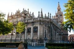 Catedral de Saint Mary da vista Imagem de Stock Royalty Free