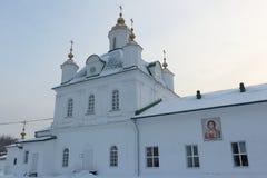 Catedral de Saint Peter e Paul, Rússia, permanente Foto de Stock Royalty Free