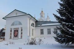 Catedral de Saint Peter e Paul, Rússia, permanente Fotografia de Stock Royalty Free
