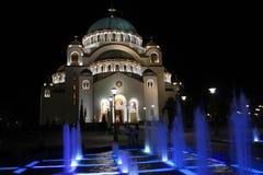 Catedral de Saint Sava imagens de stock