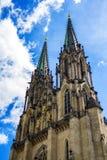 Catedral de Saint Wenceslas em Olomouc, República Checa Imagens de Stock Royalty Free