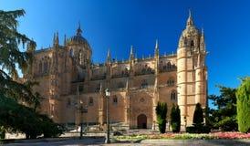 Catedral de Salamanca Imagen de archivo libre de regalías