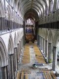 Catedral de Salisbúria imagens de stock