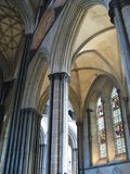 Catedral de Salisbúria Fotos de Stock