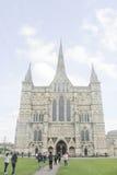 Catedral de Salisbúria foto de stock royalty free