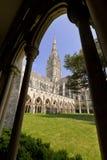Catedral de Salisbúria dos claustros imagens de stock royalty free