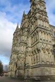 Catedral de Salisbúria em Wiltshire imagens de stock