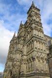 Catedral de Salisbúria em Wiltshire imagens de stock royalty free
