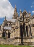 Catedral de Salisbúria, Inglaterra fotografia de stock