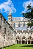 Catedral de Salisbúria, Wiltshire, Inglaterra, Reino Unido foto de stock royalty free
