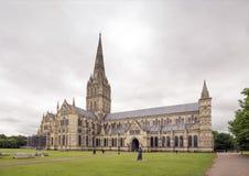 Catedral de Salisbury Imágenes de archivo libres de regalías