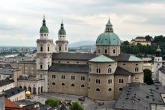 Catedral de Salzburg Fotos de archivo libres de regalías